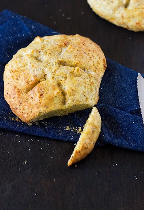 Eggless Savoury Zucchini Bread